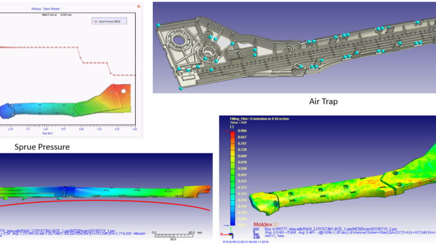 Enhancing the Part Strength of a Hammer Tacker with Carbon-Fiber Orientation Stress Analysis